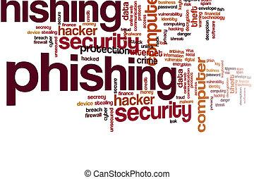 nuvola, parola, phishing