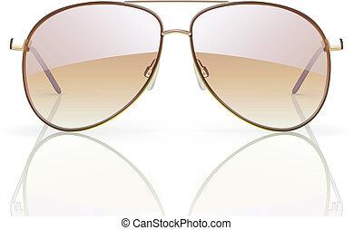 occhiali da sole, aviatore