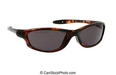 occhiali da sole, puro, w