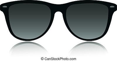 occhiali da sole, vettore