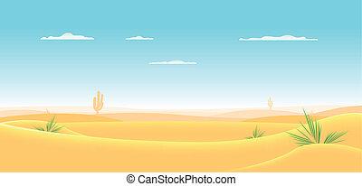 occidentale, profondo, deserto