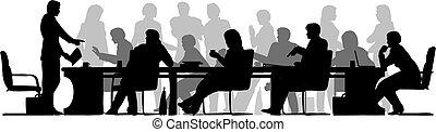 occupato, riunione