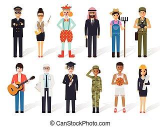 occupazione, persone, professione