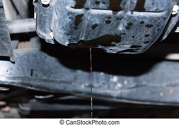 olio, automobile., tuo, cambiamento