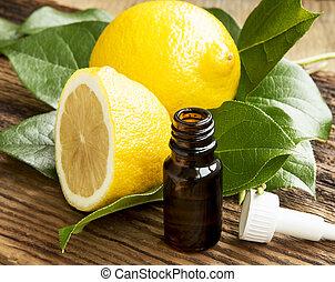 olio, limone, essenziale