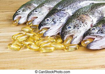 olio pesci, tempo