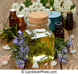 olio, rosmarino, essenziale