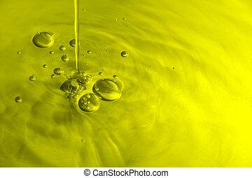 oliva, bolle, olio