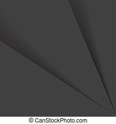 ombre, grafico, fogli, &, questo, graphic., o, -, vettore, plastica, grigio, carta, nero, toni, fondo, fra, consiste, bianco, astratto, fondale