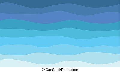 onde, modello, mare, fondo, natura, hd, seamless, astratto, moderno, blu