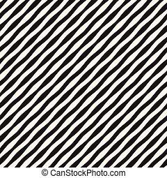 ondulato, vettore, pattern., zebrato, seamless