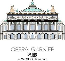 opera, garnier, parigi