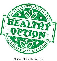 opzione, francobollo, sano