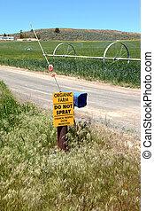 organico, segno., agricoltura