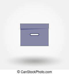 organizzatore, box., documents., file