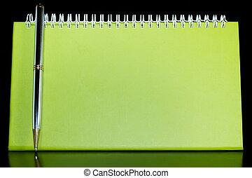 organizzatore, penna, vuoto