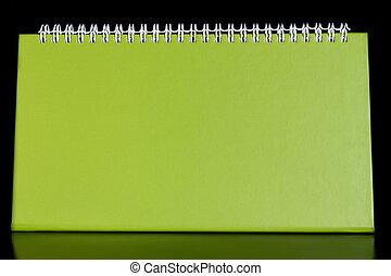 organizzatore, quaderno, vuoto