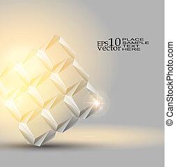 origami, fondo