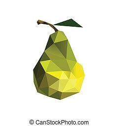 origami, pera