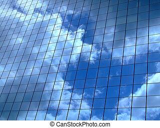 orizzontale, cielo, riflessione