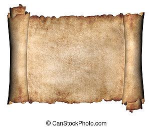 orizzontale, manoscritto