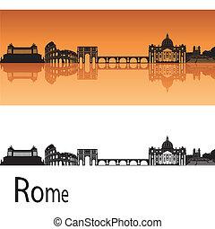 orizzonte, roma