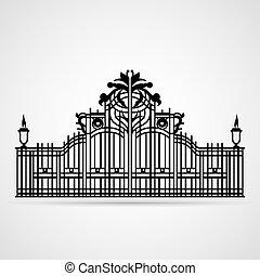 ornamentale, cancello