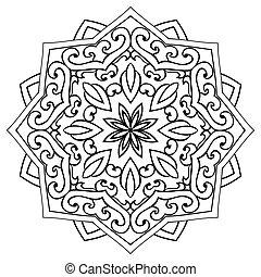 ornamentale, mandala., ?bstract