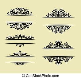 ornamento, decorazioni