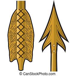 oro, freccia