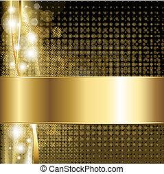 oro, lusso, fondo