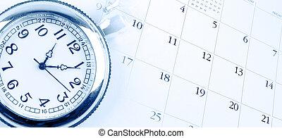 orologio, calendario
