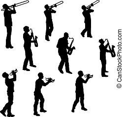 ottone, musicisti