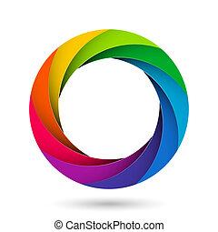 otturatore, apertura, macchina fotografica, colorito