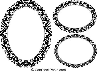 ovale, cornici