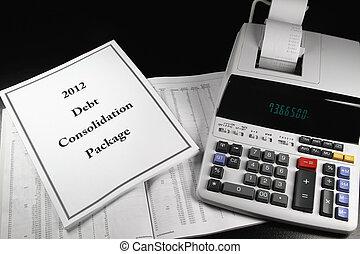 pacchetto, 2012, debito, consolidamento, 2