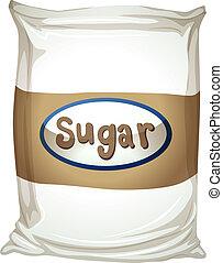 pacchetto, zucchero