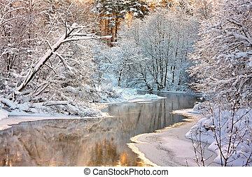 paesaggio, inverno