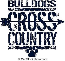 paese, croce, bulldog