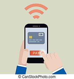 pagamento, mobile