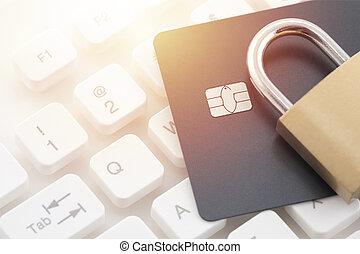 pagamento, sicurezza, carta credito