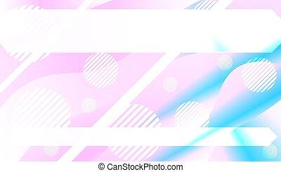 page., bandiera, gradient., effect., dinamico, astratto, coperchio, illustrazione, colorare, vettore, disegno, fondo, annuncio, tuo