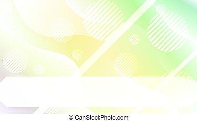 page., pagina, bandiera, gradient., colorare, coperchio, onda, dinamico, atterraggio, tuo, forme, aviatore, linee, vettore, disegno, illustrazione, composizione, forma geometrica, circle., futuristico