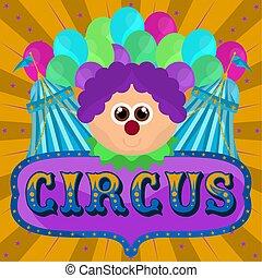 pagliaccio, circo, avatar, tende