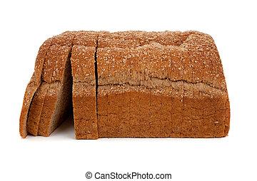 pagnotta affettata, frumento, pane bianco
