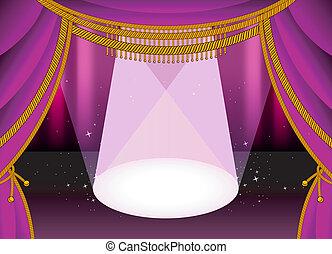 palcoscenico, teatro