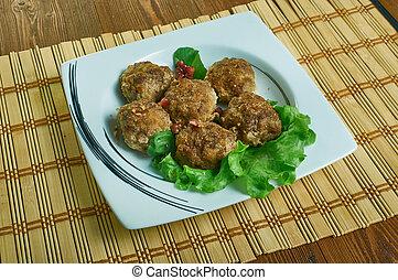 paleo, polpette carne, salisbury, bistecca