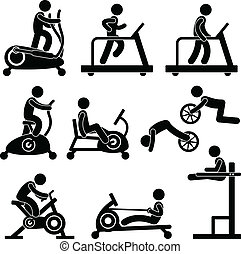 palestra, palestra, esercizio, idoneità