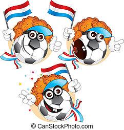 palla, cartone animato, olandese