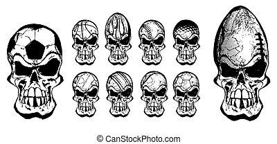 palla, crani